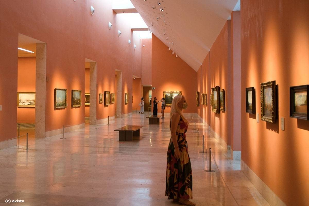 Sala del Museo Thyssen Bornemisza