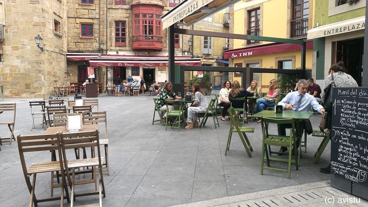 Plaza del Marqués, Gijón, Asturias