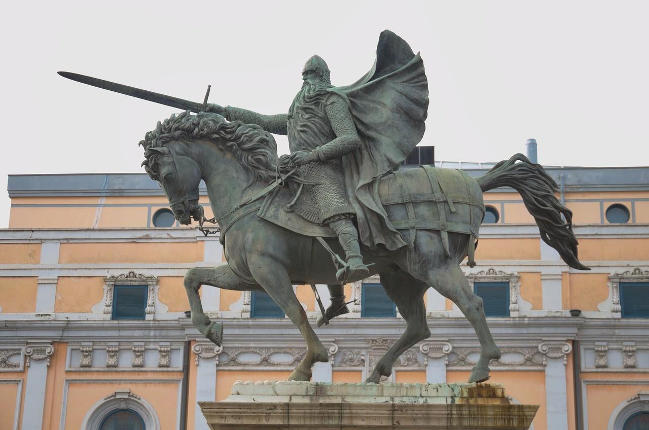 estatua cid burgos