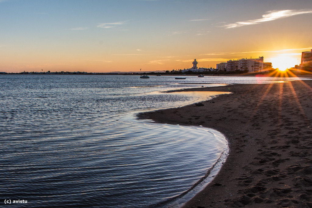 Playa en Isla Cristina