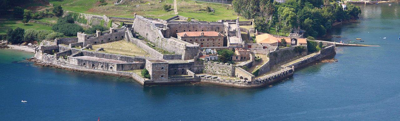 Castillo de San Felipe Ferrol Galicia