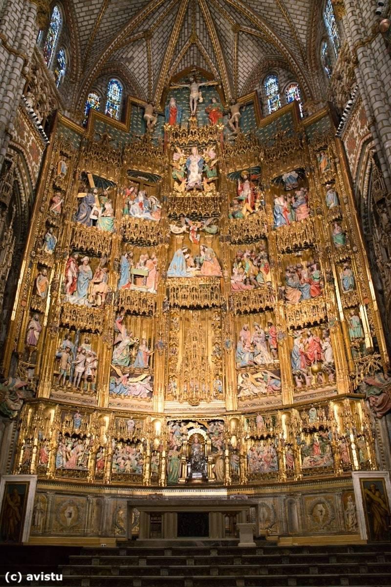Retablo de la Capilla Mayor de la Catedral de Toledo