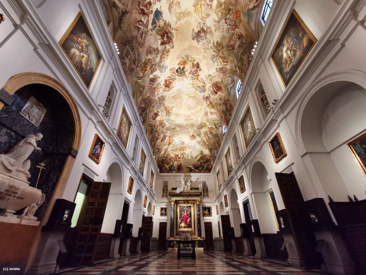 Sacristía de la Catedral de Toledo