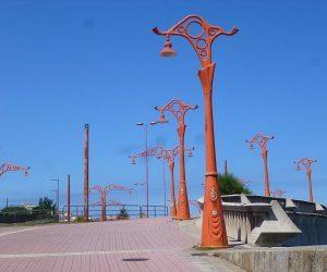 Farolas Paseo Maritimo Coruña