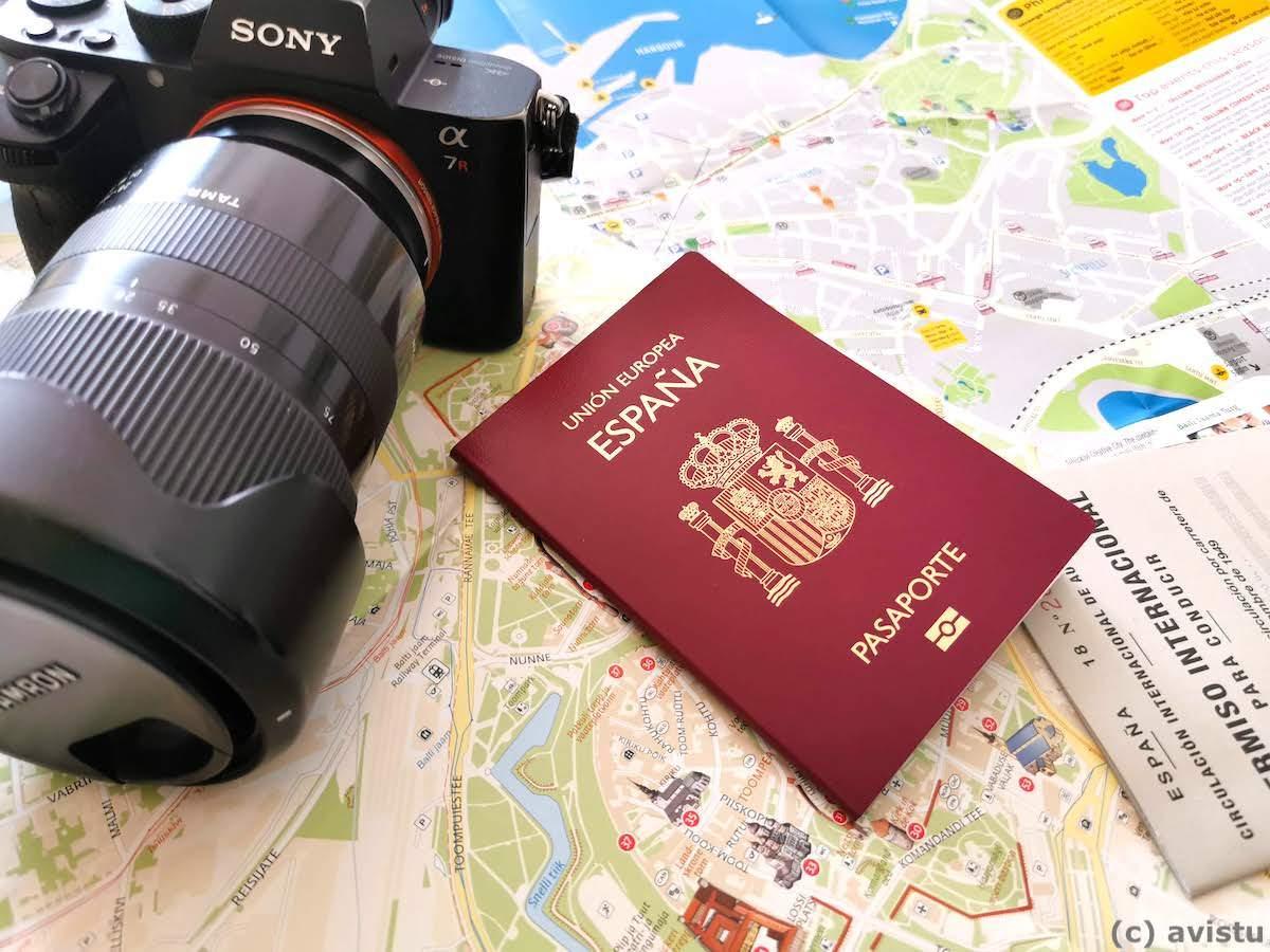 Pasaporte de España