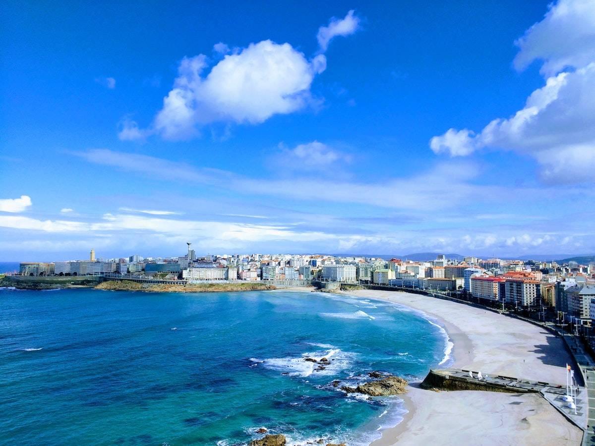 La Coruña y playas