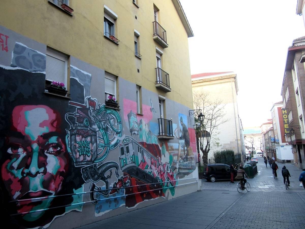 arte urbano vitoria
