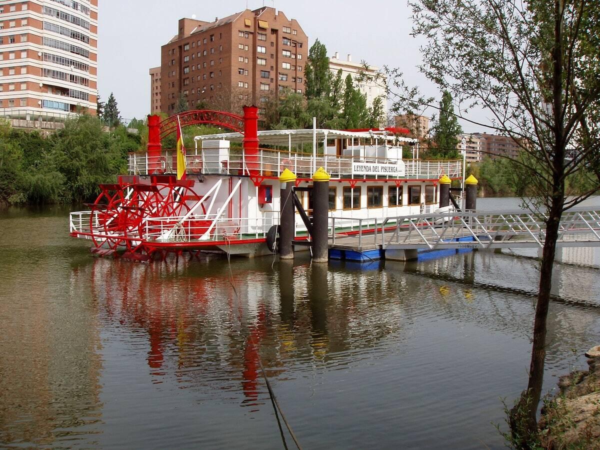 Barco Leyenda del Pisuerga Valladolid