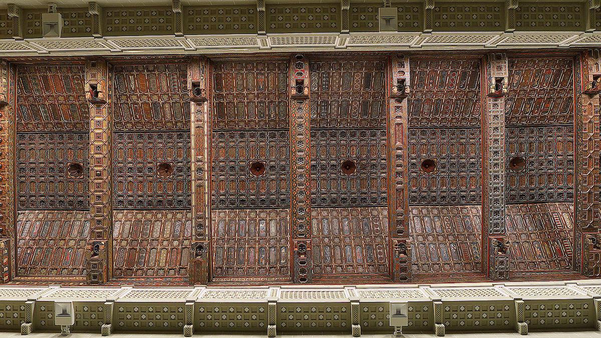 Artesonado de la Catedral de Teruel