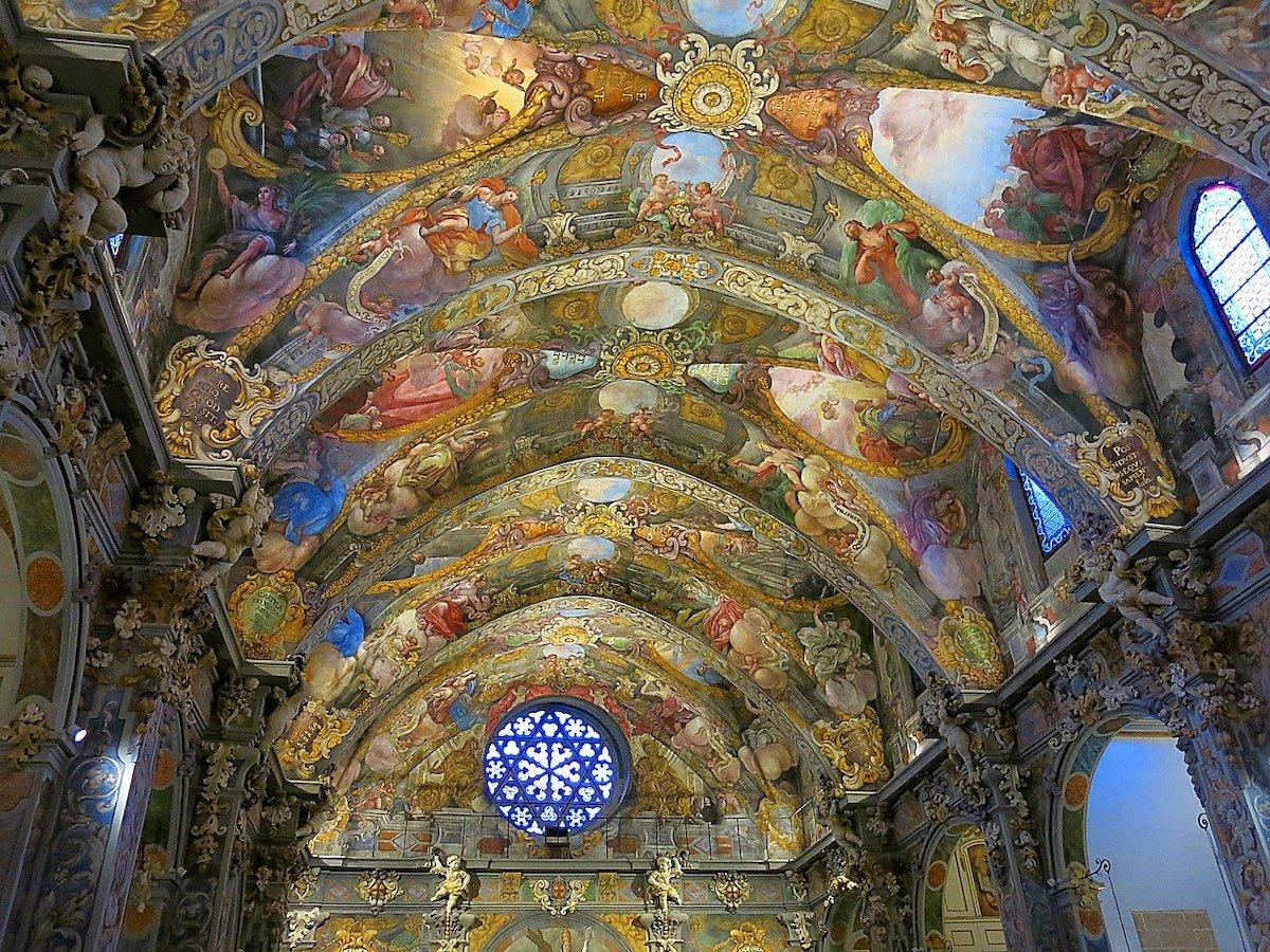 Frescos Iglesia San Nicolás Valencia