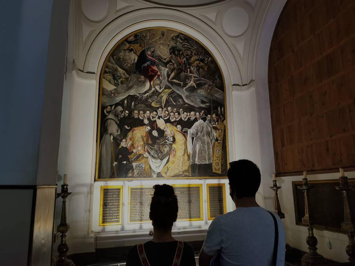 Entierro del Señor de Orgaz Toledo