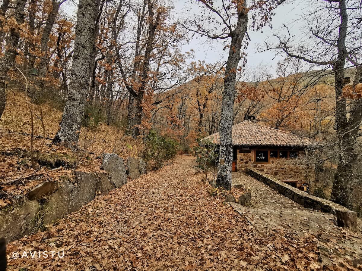 Entrada al Hayedo de Montejo, Sierra Norte, Madrid