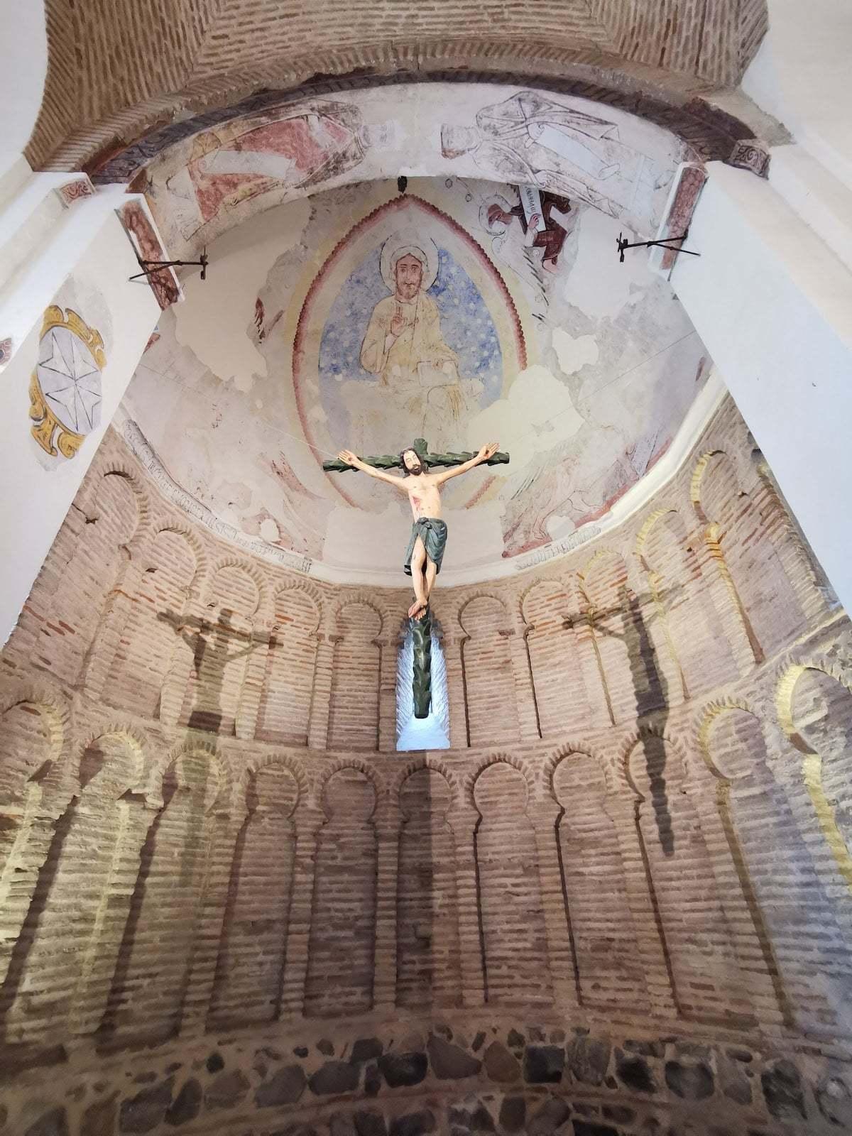 Cristo de la Ermita de la Luz en Toledo