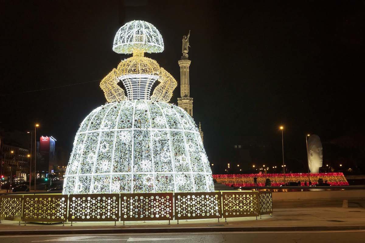 Menina de Colón Navidad Madrid