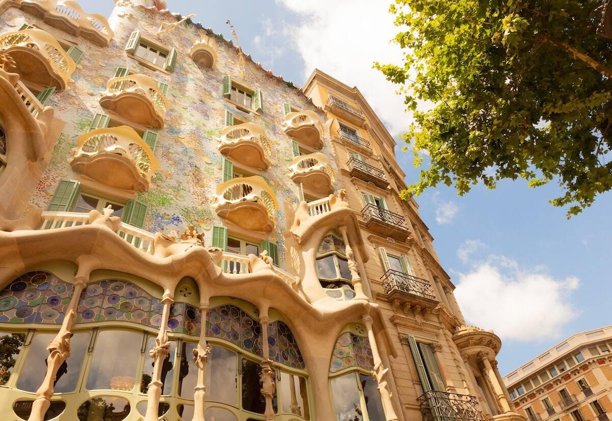 Casa Batllo Barcelona Gaudi