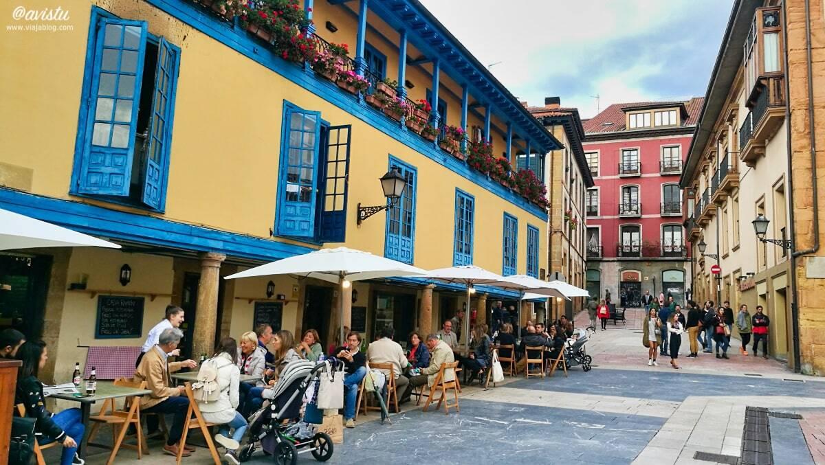 Plaza del Fontán, Oviedo, Asturias