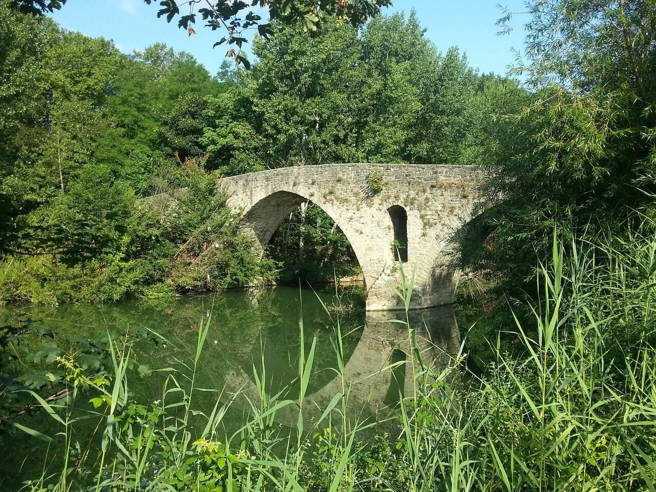 puente camino de santiago