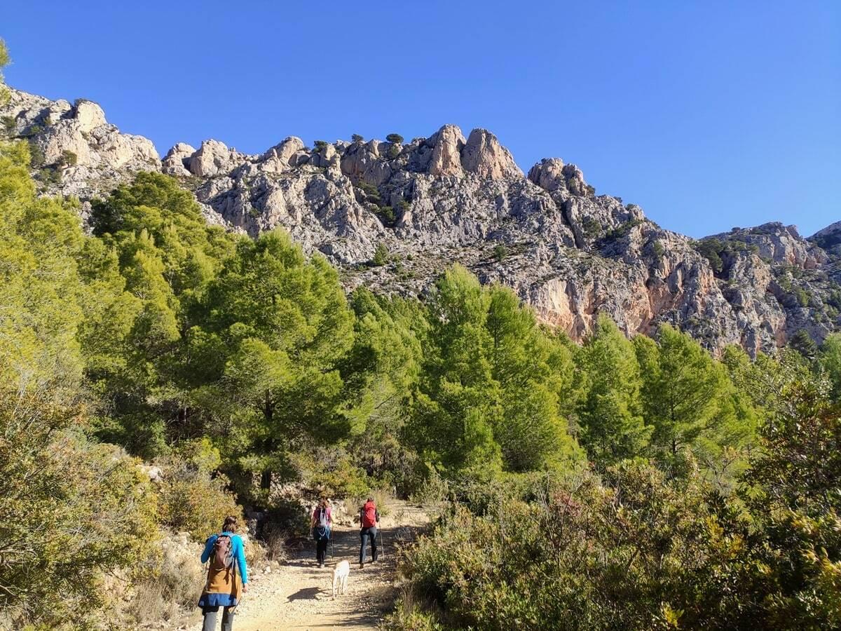 Ruta senderista de la Sierra de Ortà