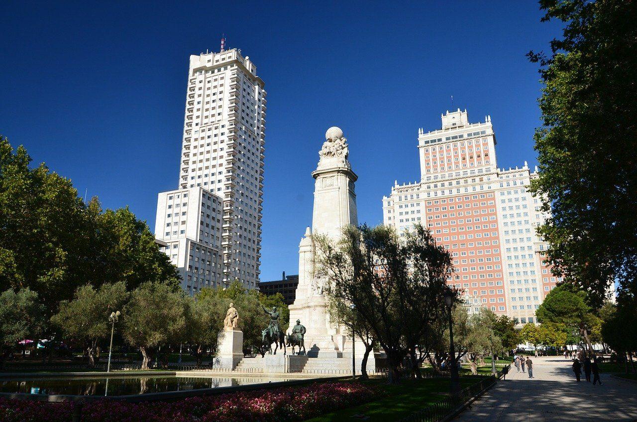 Plaza de España en Madrid