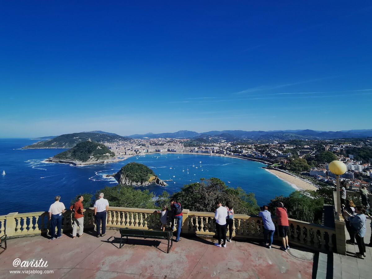 San Sebastián desde Monte Igueldo