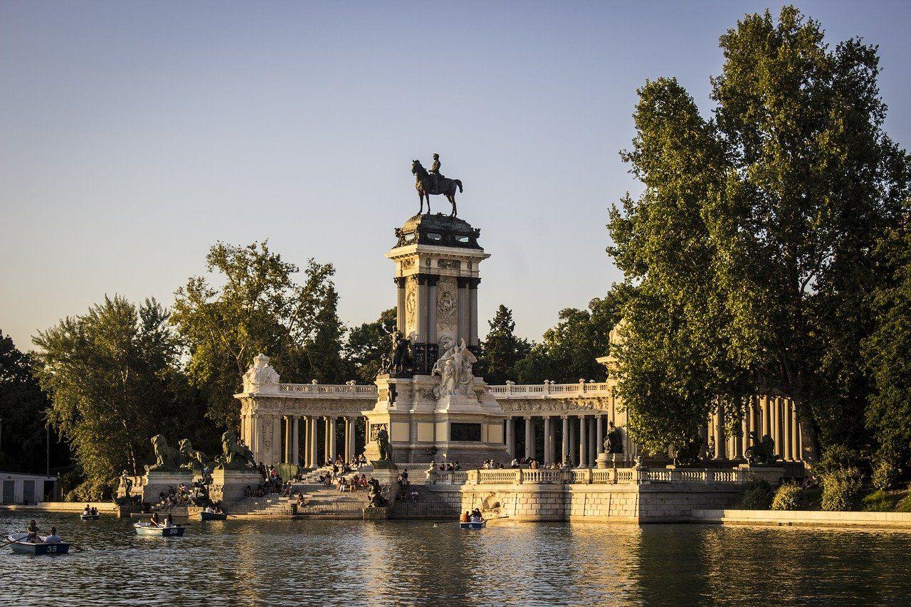 Estanque, Parque del Retiro, Madrid