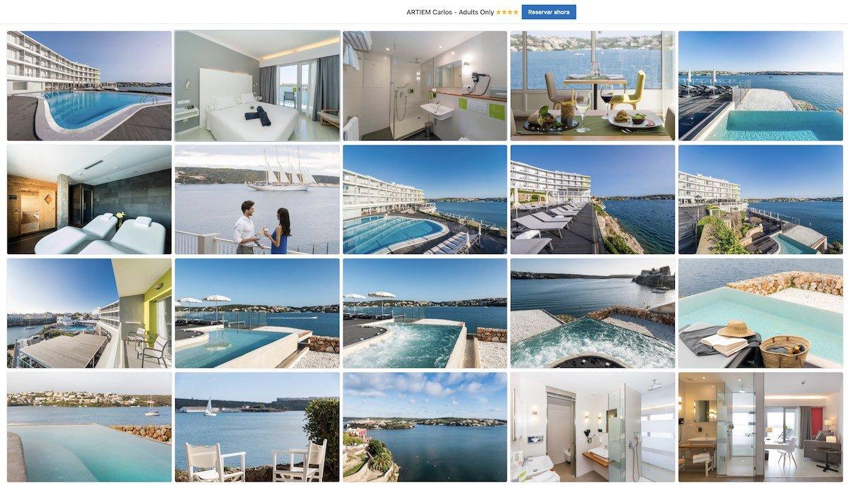 Hotel ARTIEM Carlos - Adults Only, Mahón, Menorca
