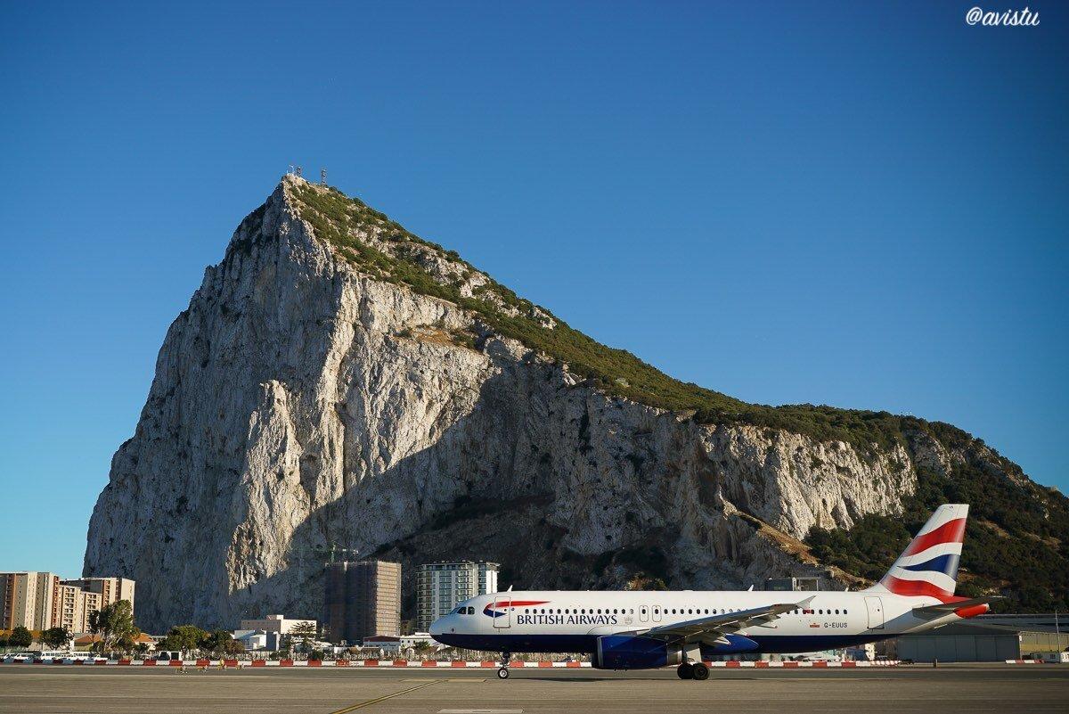 Aeropuerto y Peñón de Gibraltar