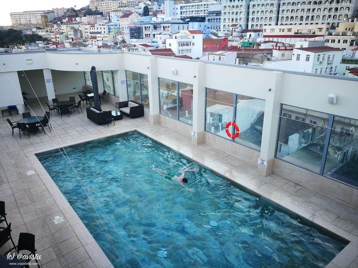Piscina Hotel O'Callaghan Eliott Gibraltar
