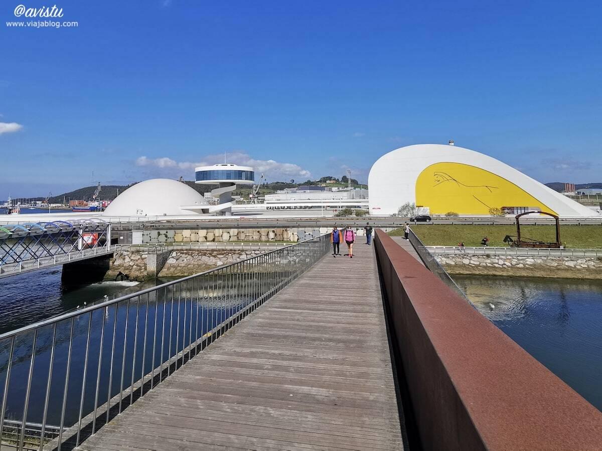 Vista panorámica del Centro Niemeyer