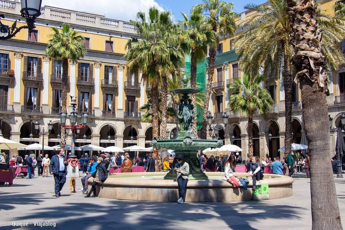 free tour plaza real barcelona