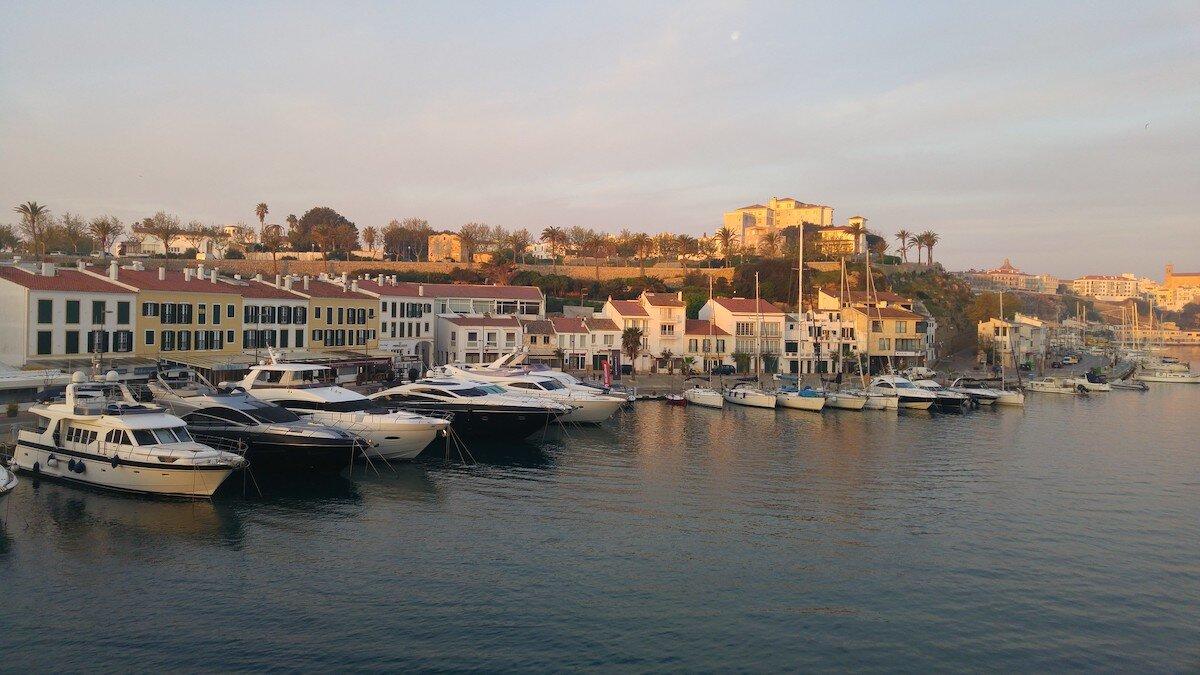 Puerto de Mahón. Menorca
