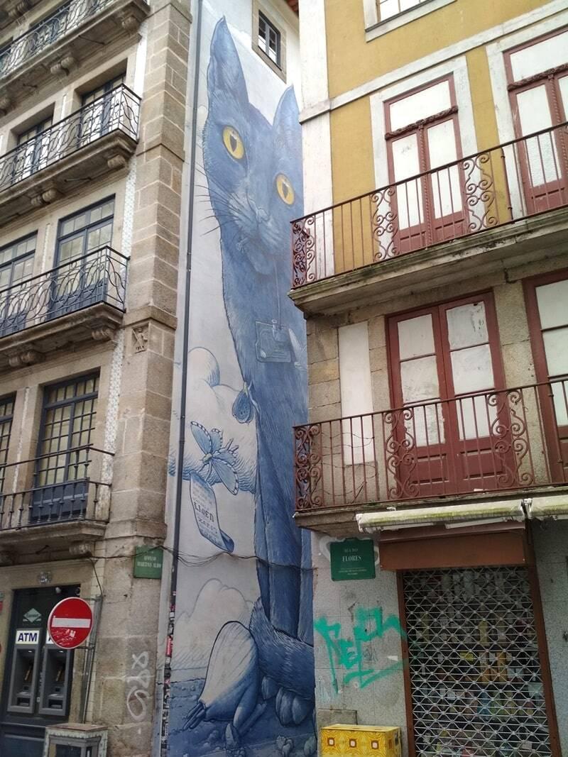 grafitis Oporto