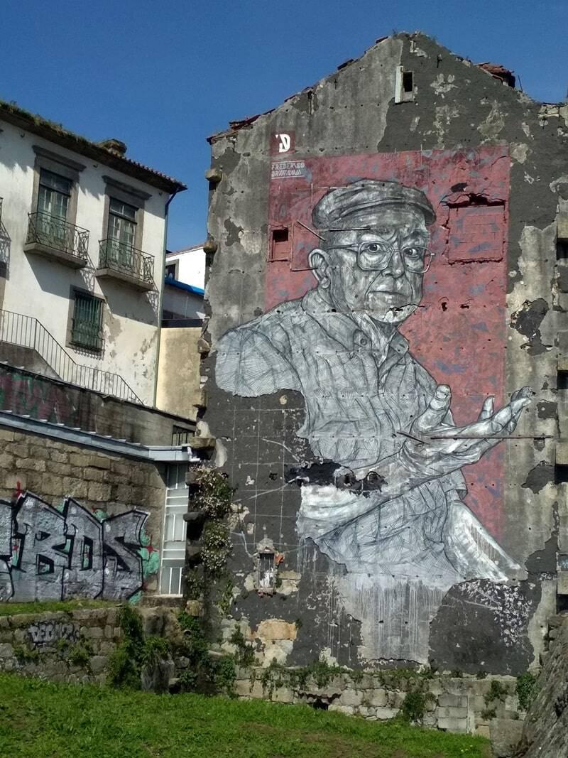 murales en Oporto