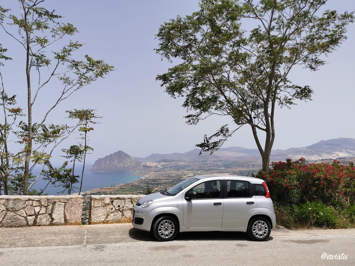 Coche de alquiler en Sicilia