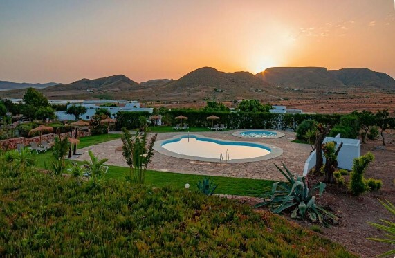 donde alojarse en el Cabo de Gata