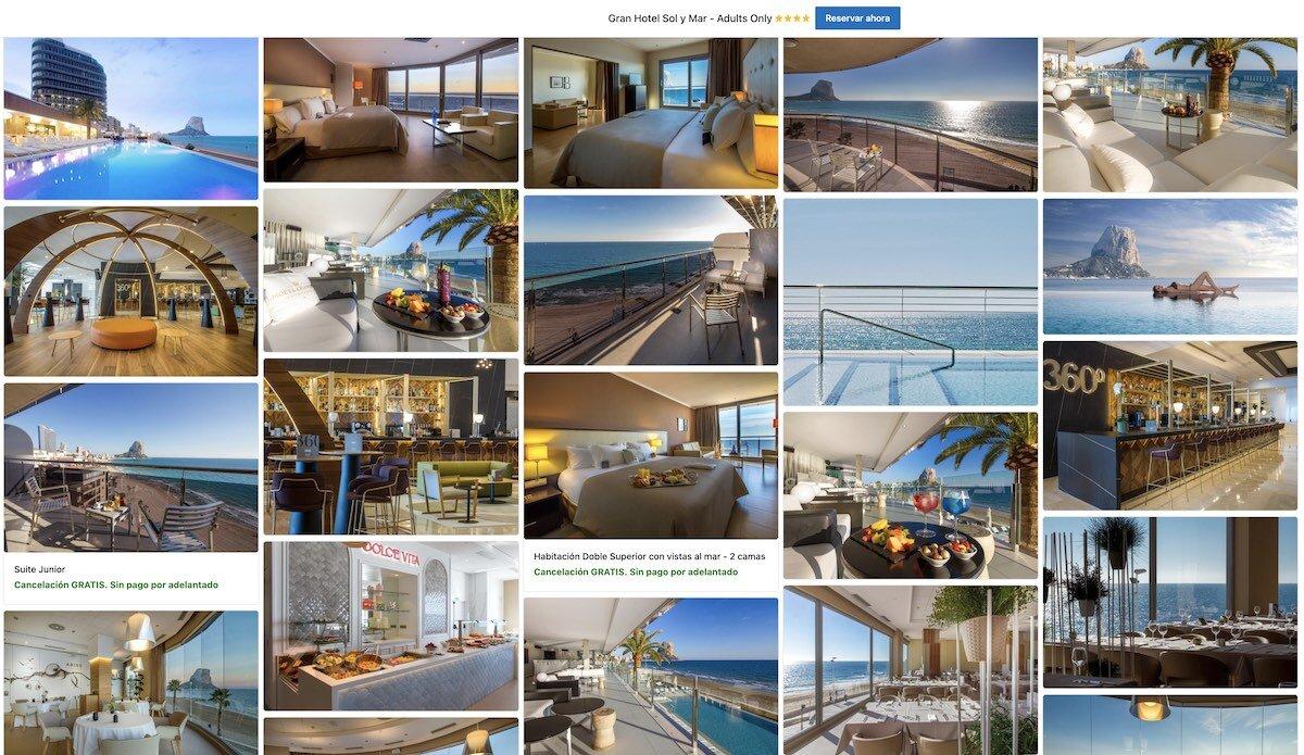 Gran Hotel Sol y Mar Adults Only, Calpe, Alicante