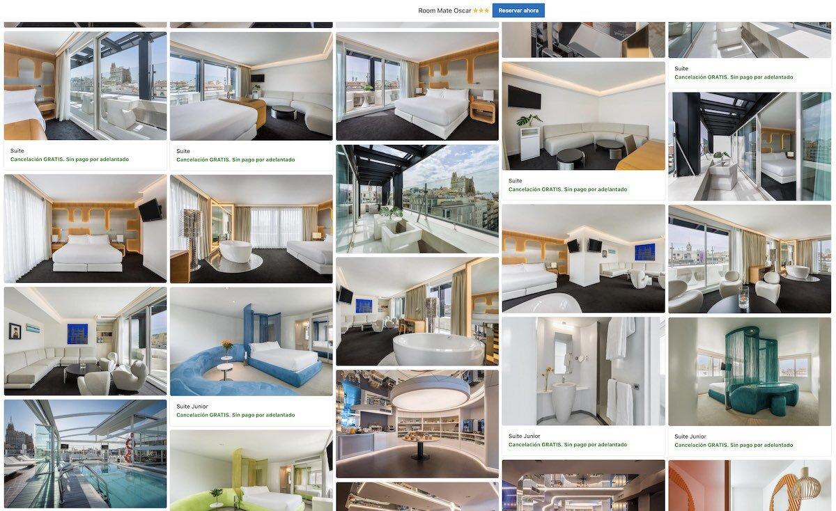 Hotel Room Mate Oscar Madrid