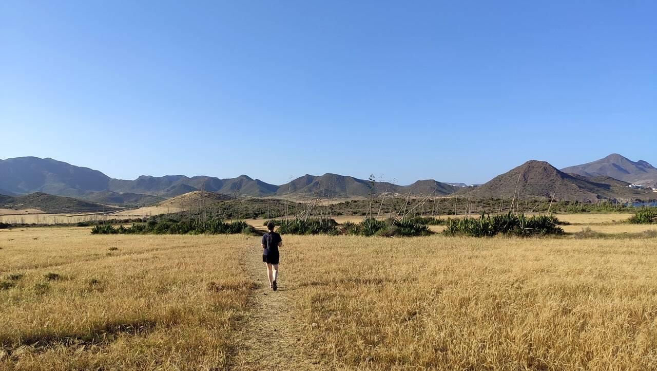 senderismo en Cabo de gata