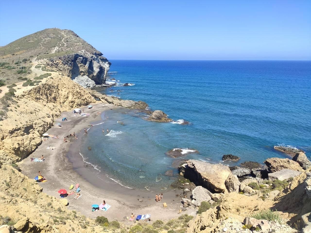 Cala de los Amarillos mejores playas Cabo de Gata