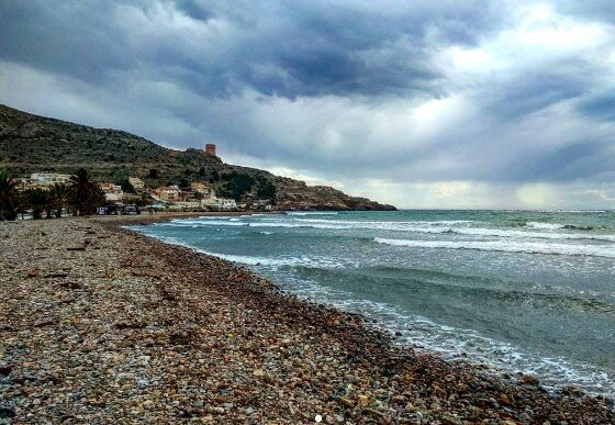 playa la azohia cartagena