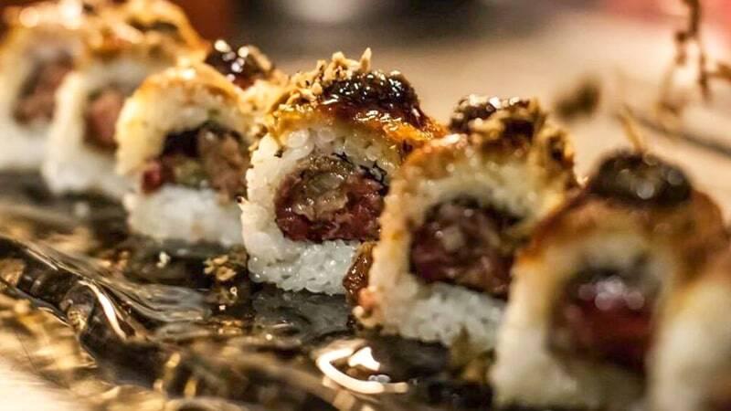 Sushi comer Girona restaurante