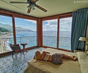 Alojarse en Taormina A Picco sul Mare Habitación