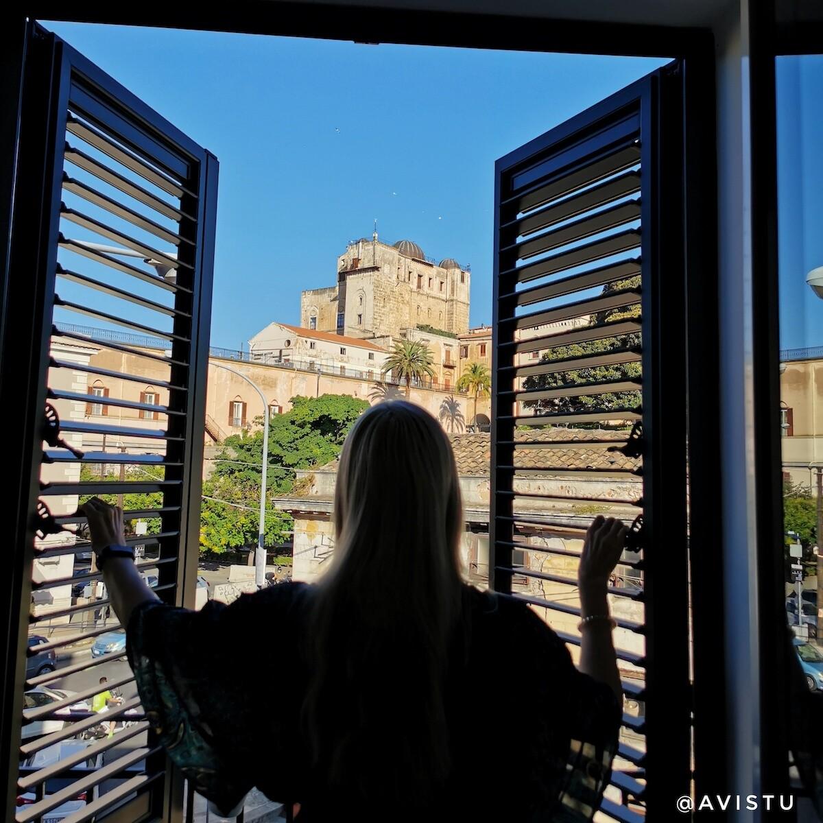 Balcón Piccola Formica Charme Rooms, Palermo Sicilia