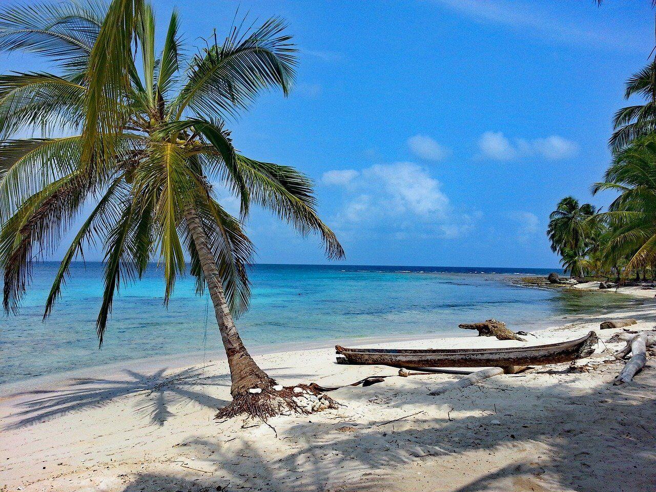 Isla Diablo, Islas de San Blas, Panamá