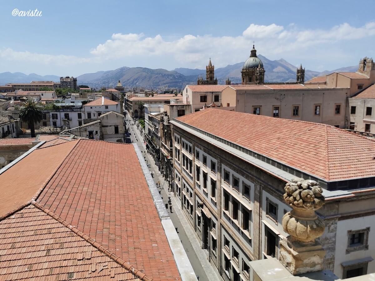 Vistas de Palermo, Sicilia