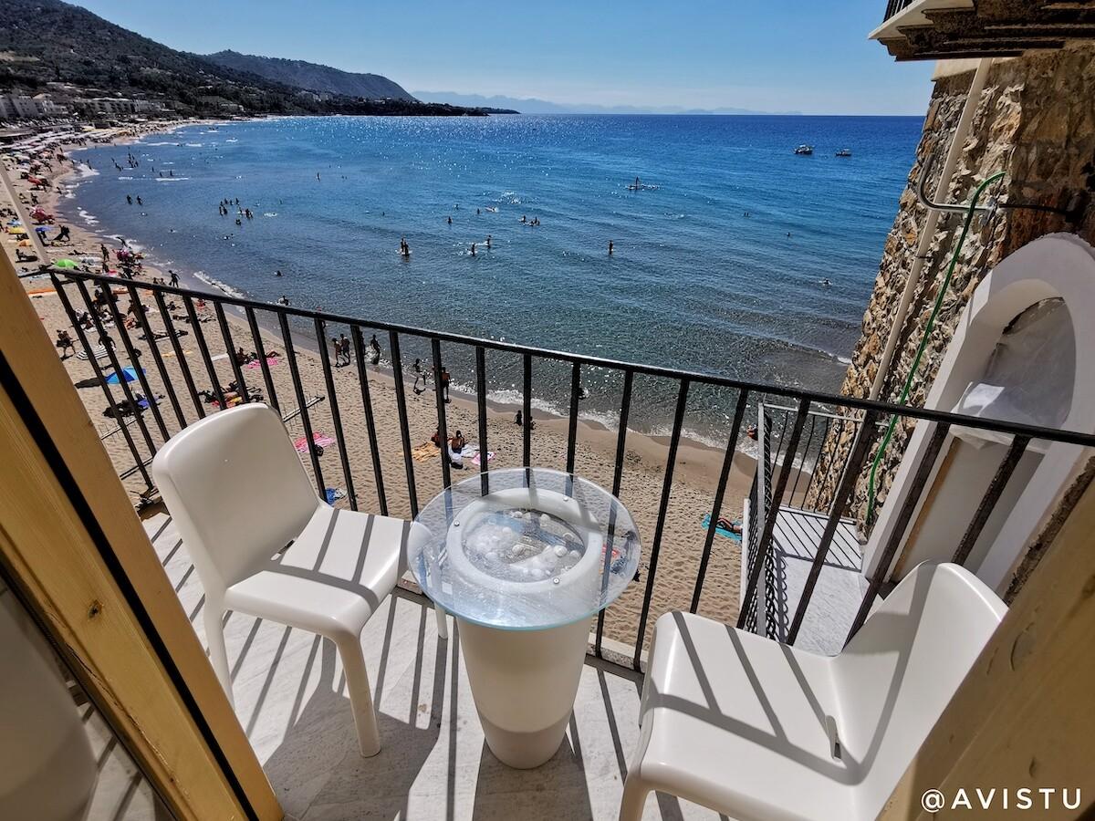 Terraza Balcone sul Mare, Cefalú. Sicilia