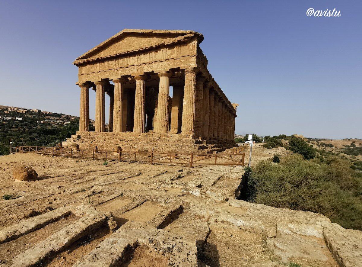 Valle de los Templos, Agrigento, Sicilia