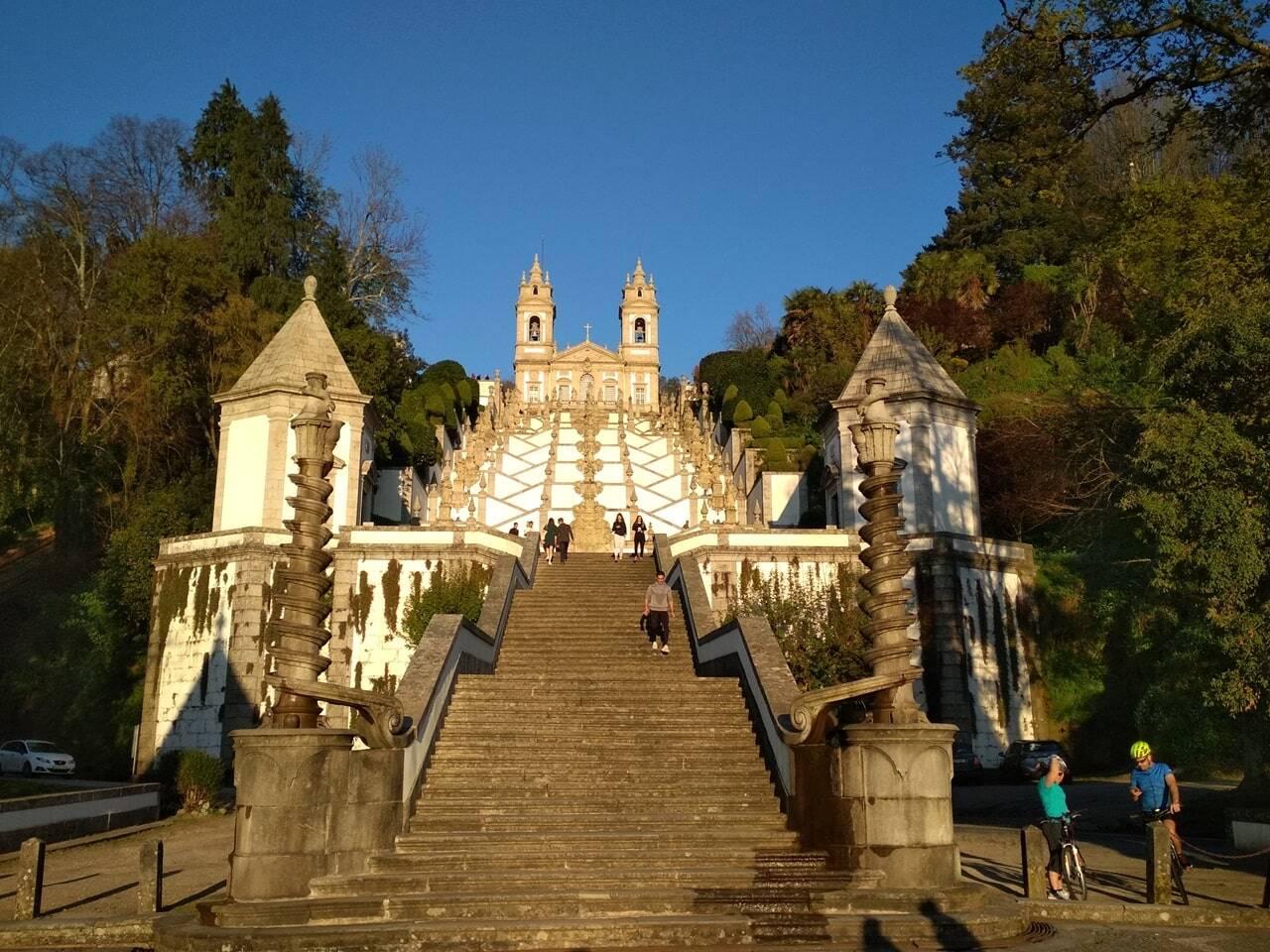 visitar el santuario del bom jesus do monte