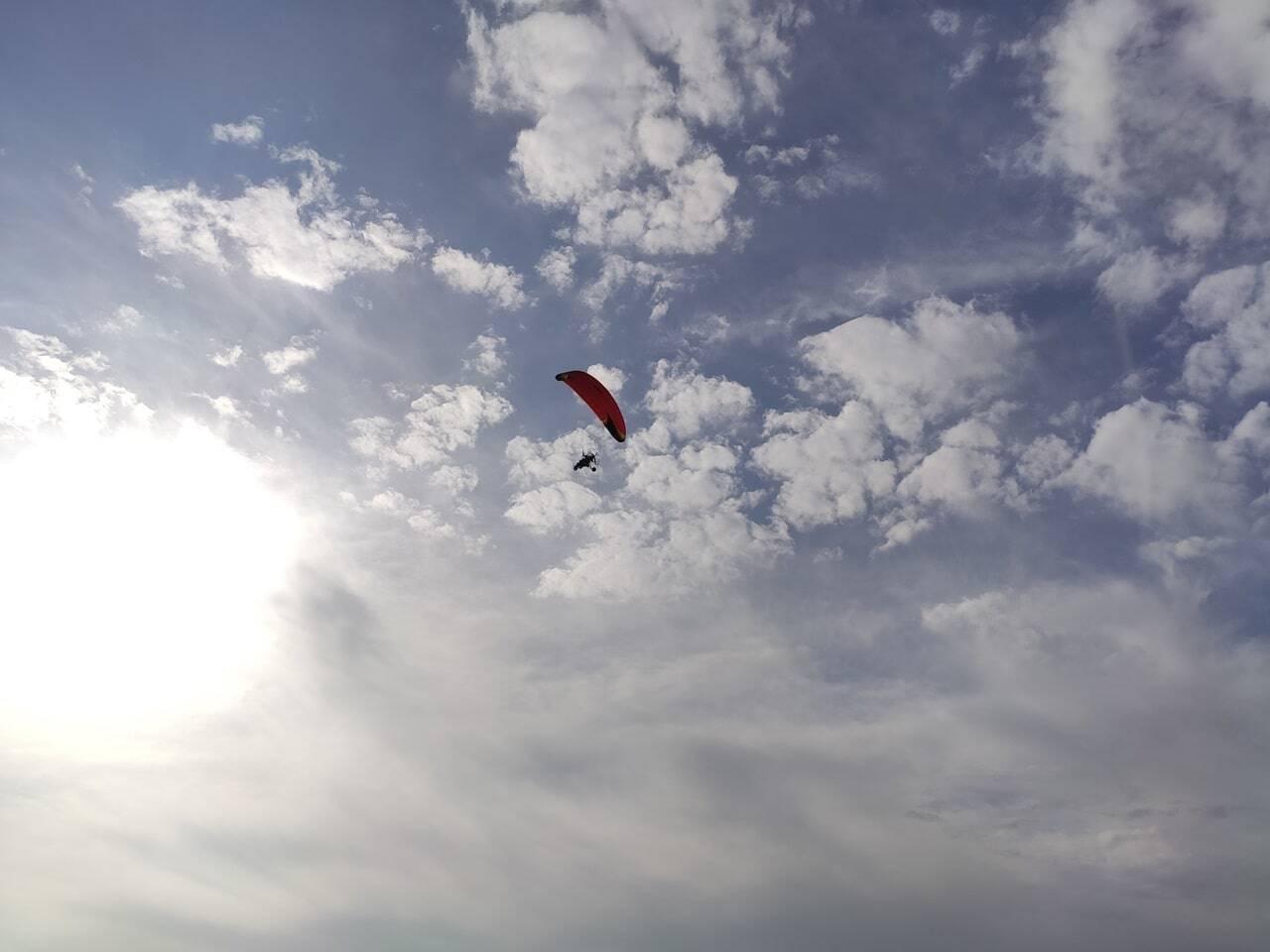 volar en paramotor montilla