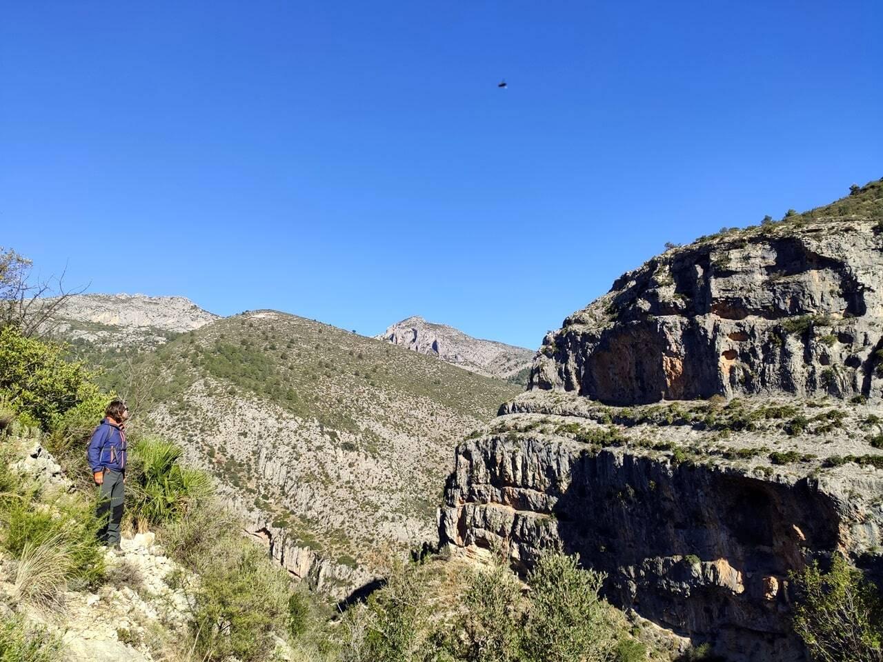ruta barranco del infierno Alicante